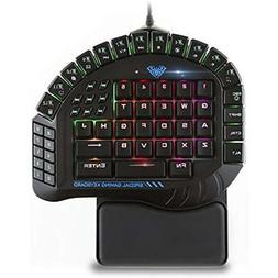 AULA Excalibur Master One-hand Gaming Keyboard Removable Han