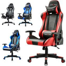 Gaming Racing Chair GTRACING Ergonomic Height Back Adjustabl