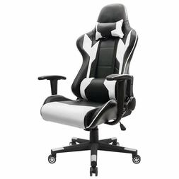Homall Executive Swivel Leather Gaming Chair, Racing Style H