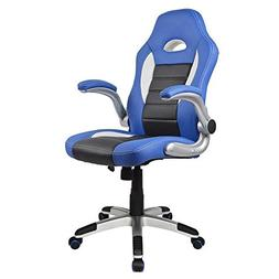 Homall Executive Swivel Leather Office Chair, Racing Chair H