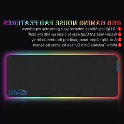 🌈Extended Colorful LED Lighting RGB Gaming Keyboard Mouse