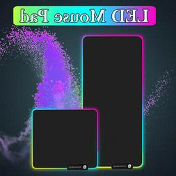 Extended LED Colorful RGB Lighting Gaming Pad Keypad Mouse M