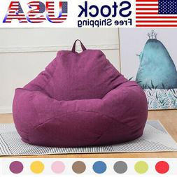 Extra Large Bean Bag Chair Sofa Cover Indoor/Outdoor Game Se