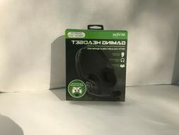Vibe Gaming FB-X36ST-BLK Xbox360 Gaming Headset w/Adjustable