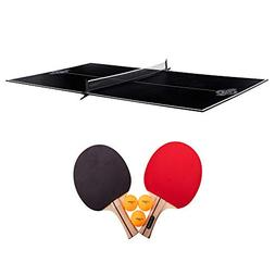 Lancaster 2 Piece Foldable Indoor Table Top Tennis Game Set