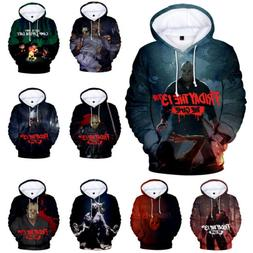 Friday the 13th The Game Hoodie Men's  Fashion Casual Hooded