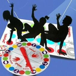 Funny Kids Adult Body Twister Moves Mat Board Game Group Out