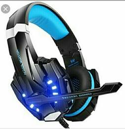 G2000 G9000 Gaming Headsets Big Headphones with Light Mic St