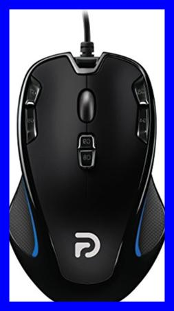 Logitech G300s Optical Ambidextrous  Gaming Mouse – 9 Prog