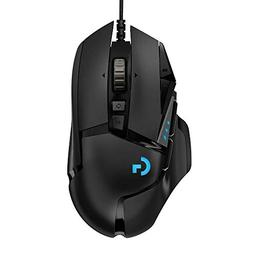 Logitech G502 Gaming Mouse HERO High Performance with 16K Se