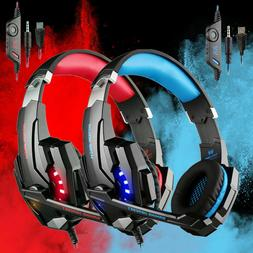 Each G9000 Stereo Gaming Headsets Headphone for PS4 Xbox One