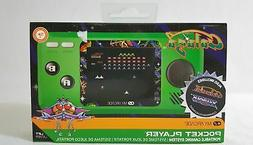 My Arcade Galaga Pocket Player Portable Gaming System with 3