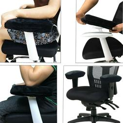 1*Gaming Chair Armrest Pad Soft Memory Foam Elbow Pillow Sup