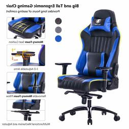 Gaming Chair For Heavy People Big And Tall Guy Office 400lb