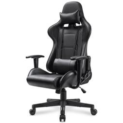 Homall Gaming Chair Racing Office Chair Leather Computer Des
