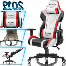 HOMALL Gaming Chair Racing Style High-Back PU Leather Office