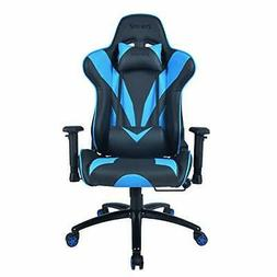 ZENEZ Gaming Chair Video Game Chairs Racing Style PU Leather