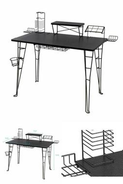 """Gaming Desk Multi Function Computer Table 32"""" TV Stand Home"""