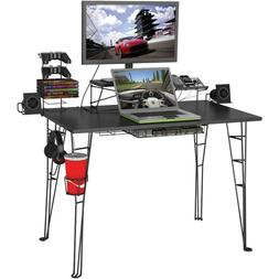 gaming desk pc table monitor stand console