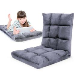 Gaming Floor Sofa Adjustable Chair for Adults & Kids 14 Recl
