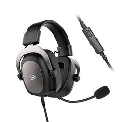 Gaming headphones Headset 3.5m PS4 surround sound and HD mic