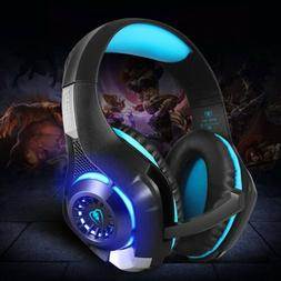 Gaming Headset GM-1 For PS4 Xbox One Phone With Mic LED Ligh