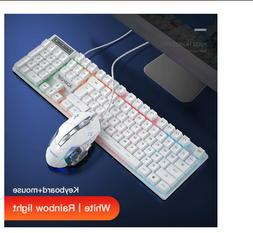 Gaming keyboard and Mouse Wired backlight keyboard mechanica