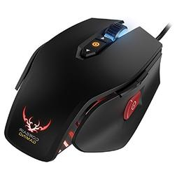 Corsair Gaming M65 RGB FPS PC Gaming Laser Mouse, Black