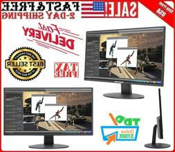 "Gaming Monitor PC Computer LED 20"" Screen Desktop HDMI DVI V"
