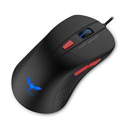Havit Gaming Mouse, 2800DPI 6 Buttons LED Optical Wired Mous