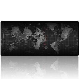 Imegny Extended Gaming Mouse Pad, Keyboard & Mouse Mat World