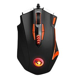 Gaming Mouse KINGTOP Programmable 16400 DPI Professional Wir