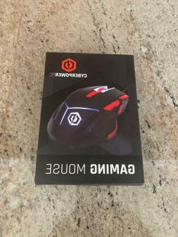 CyberpowerPC Gaming Optical USB Wired Mouse 8 DPI Mode with