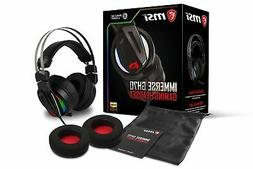 MSI Gaming RGB Stainless Steel Headband 7.1 Surround Sound S