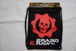 GEARS OF WAR 3 LOGO BACK SACK BAG PACK NEW BAGGED OFFICIAL S