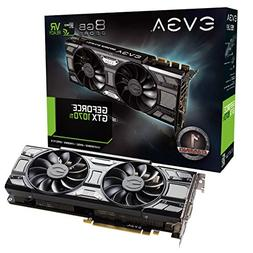 EVGA GeForce GTX 1070 Ti SC GAMING ACX 3.0 Black Edition, 8G