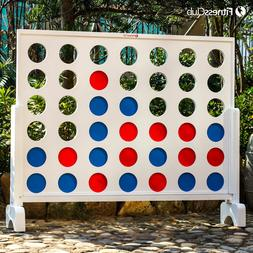 Giant Connect 4 In A Row Jumbo Yard Game Toys Gift Kids Adul