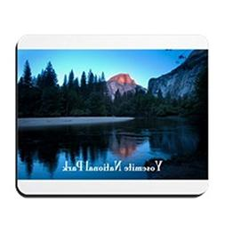 CafePress - Half Dome Sunset in Yosemite National Park Mouse