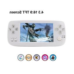 "Rongyuxuan Handheld Game Console Portable Video Game 4.3"" TF"