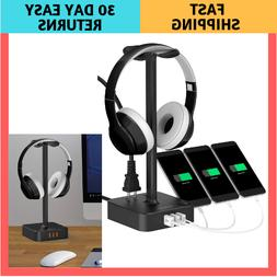 Headphone Stand USB Charger COZOO Desktop Gaming Headset Hol