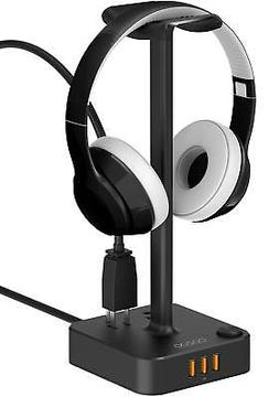 Headphone Stand with USB charger COZOO Desktop Gaming Headse