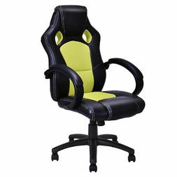 High Back Race Car Style Bucket Seat Office Desk Chair Gamin