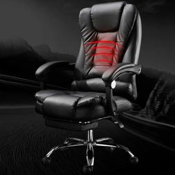 Massage Gaming Chair High Back Computer Recliner Swivel Offi