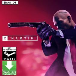 Hitman 2 PC Game Steam Key 2018 Assassin Action Stealth  FAS