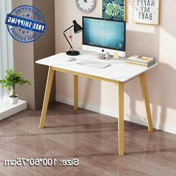 Home Office Study Gaming Writing Desk Wooden Desk PC Laptop