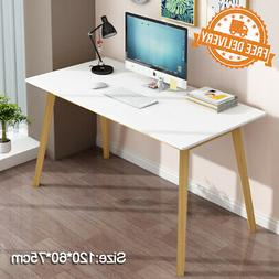 Home Office Study Gaming Writing White Desk PC Laptop Table