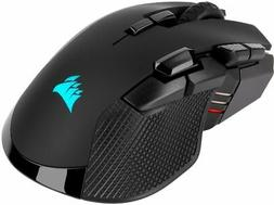 CORSAIR - IRONCLAW RGB Bluetooth Optical Gaming Mouse - Blac