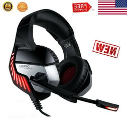 ONIKUMA K5 PRO Stereo Gaming Headset for PS4 PC Xbox One Com