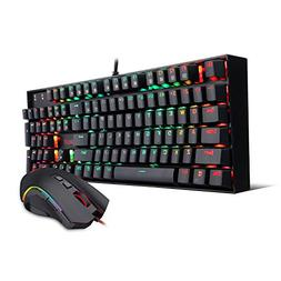 Redragon K551-RGB-BA Mechanical Gaming Keyboard and Mouse Co