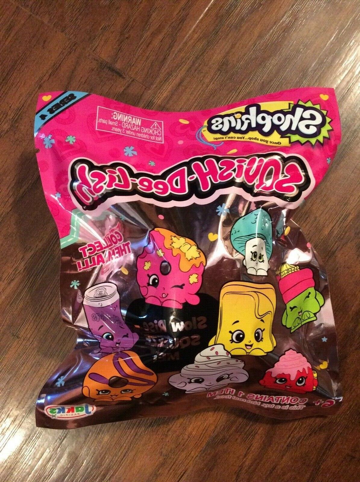 1 shopkins squish dee lish blind bag